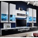 Mueble salon teresa2 blanco negro
