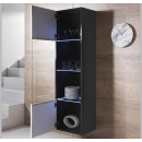 vitrina-colgante-leiko-v6-40x165cc-negro-blanco-abierto