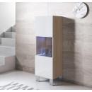 vitrina-colgante-luke-v3-40x126-pies-aluminio-sonoma-blanco