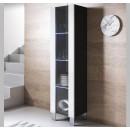 vitrina-colgante-luke-v5-40x165cc-pies-aluminio-negro-blanco
