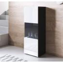 vitrina-patas-normales-blancas-luke-v6-40x126cm-negro-blanco