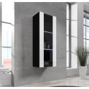 vitrina zarco negro blanco