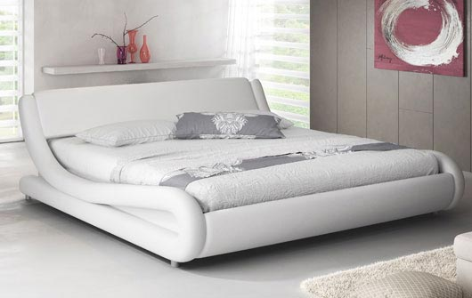 Cama Alessia en color blanco