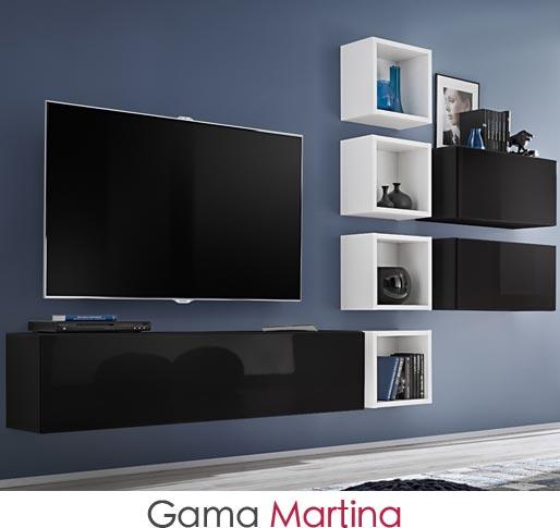 Gama de muebles de salón modelo Martina