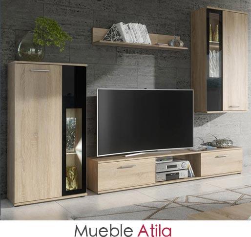 Mueble de salón modelo Atila