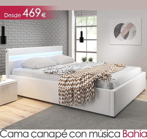 Cama canape con musica Bahia