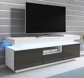 Mueble TV Persis (130cm) - Todo el mueble en alto brillo