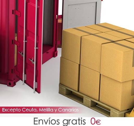 Envíos gratis a toda España