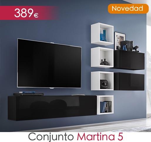 Conjuntos de muebles Martina modelo 5
