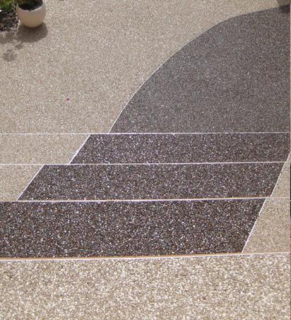 Pavimento piedra para escaleras con perfil