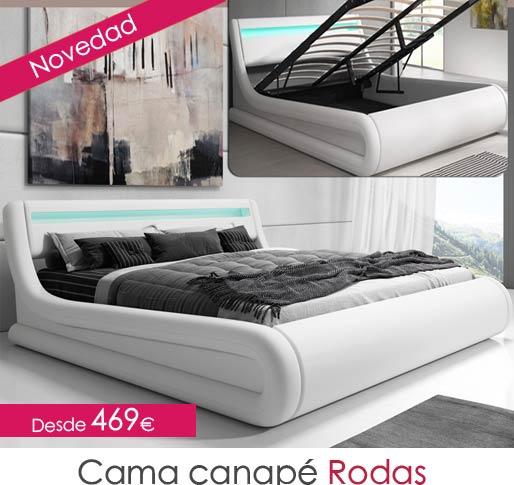 Cama canape Rodas