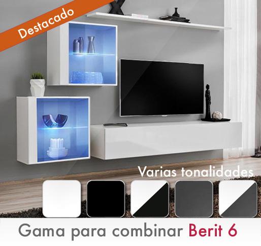 Serie Berit. Muebles para combinar por módulos