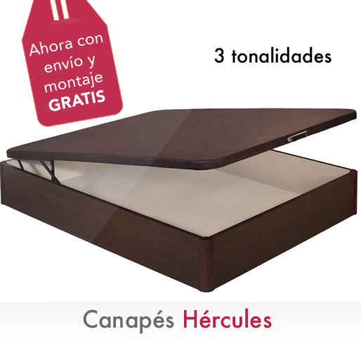 Cama canapé Hercules con envío y montaje gratis