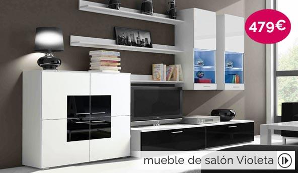 mueble de diseño Violeta